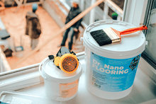 Load image into Gallery viewer, Dr. Nano Antibacterial Floor Coating (Clear, 2 gal)
