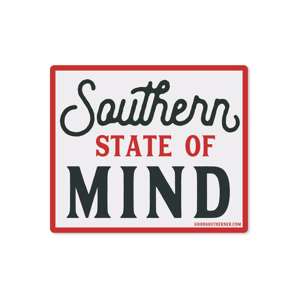 Southern State of Mind Sticker
