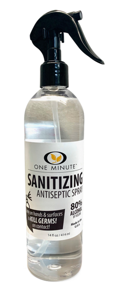 Sanitizing Antiseptic Spray - 14 Oz