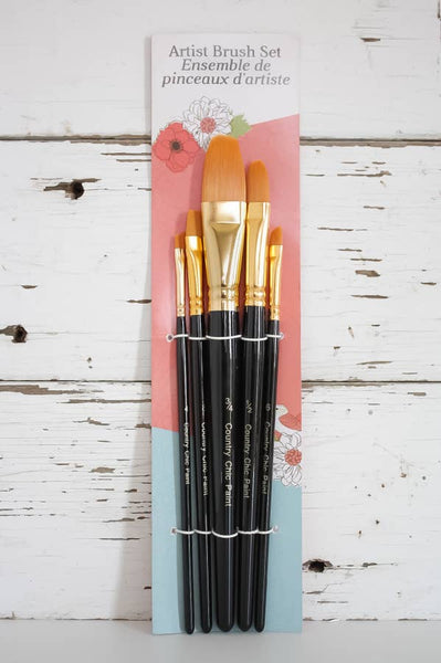 Country Chic Paint Artist Brushes
