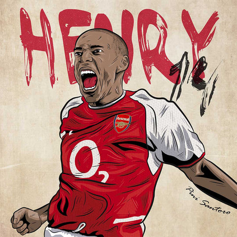 The Iconic Thierry Henry