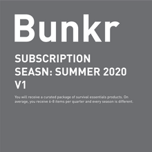 Load image into Gallery viewer, COMING SOON / Bunkr Subscription Seasn: Summer 2020