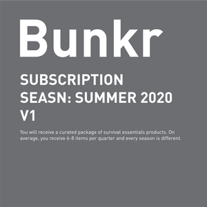 COMING SOON / Bunkr Subscription Seasn: Summer 2020