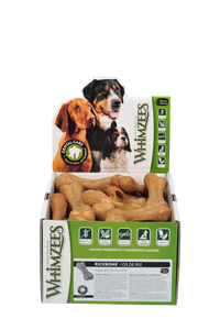 WHIMZEES Rice Bone - Case of 50