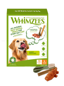 WHIMZEES Variety Value Box Large - 14 pack