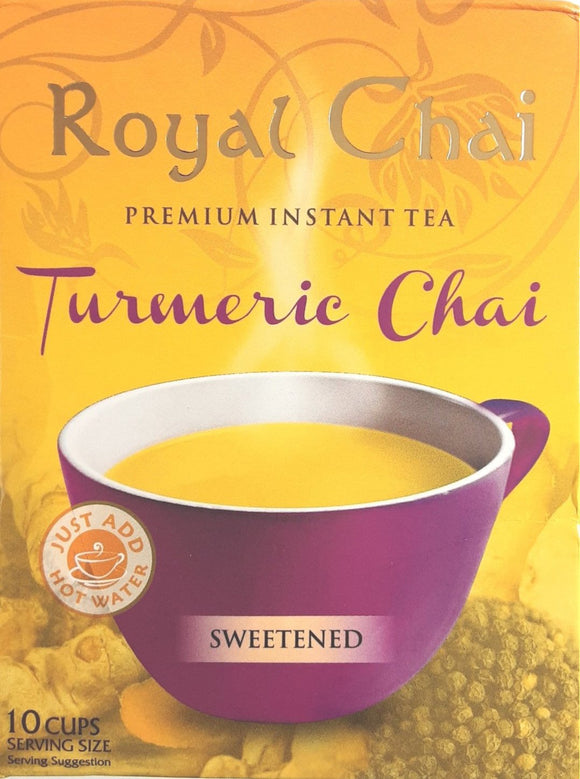 Royal Instant Chai Turmeric 10 Servings
