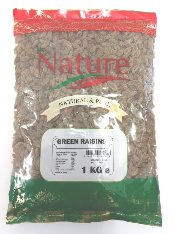 Dr Nature Green Raisins 1kg