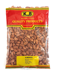 KB Almonds 600g