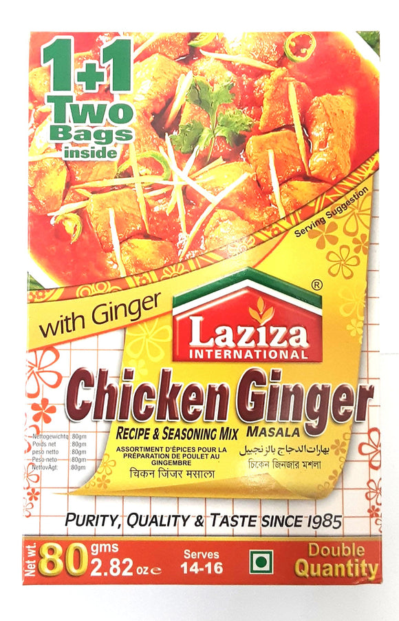 Laziza Chicken Ginger Masala 100g