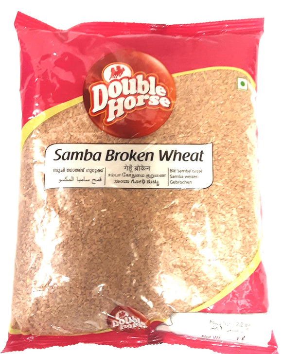 Double Horse Samba Broken Wheat 1kg