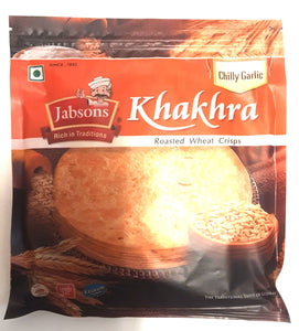 Jabsons Khakhra Chilly Garlic 180g