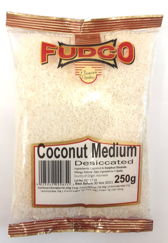 Fudco Coconut Medium 250g