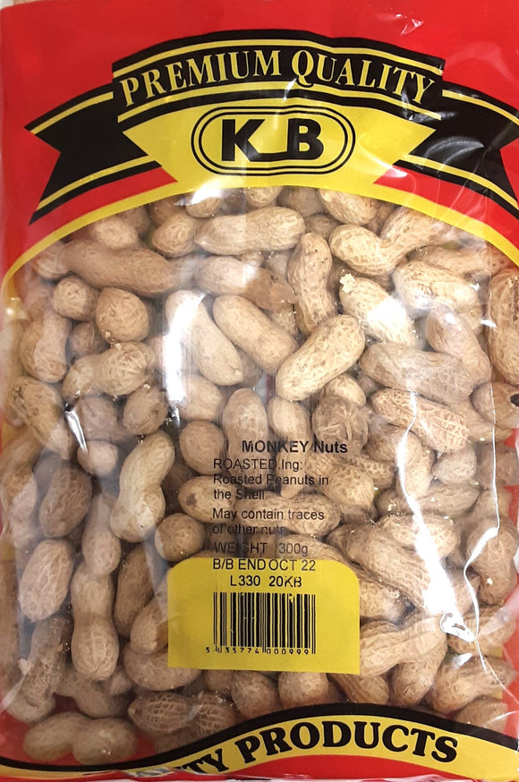 KB Monkey Nuts Roasted 300g
