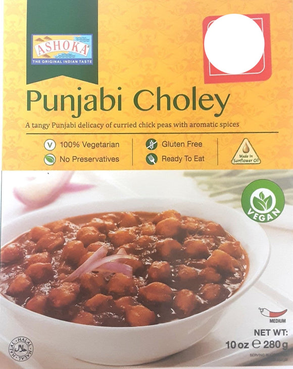 Ashoka Punjabi Choley 280g 2 for £2