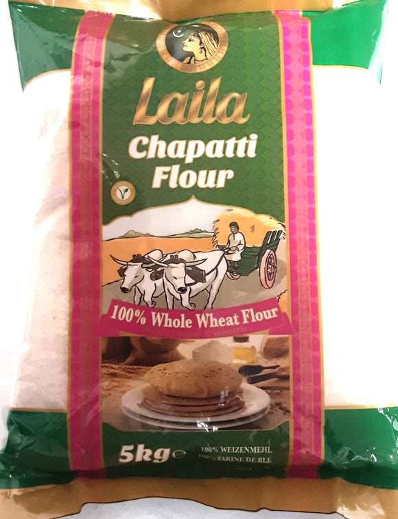 Laila Chapatti Flour Whole Wheat Flour 5kg