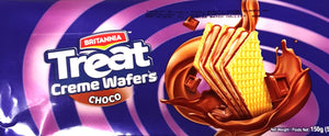 Britannia Treat Creme Wafers Choco 150g