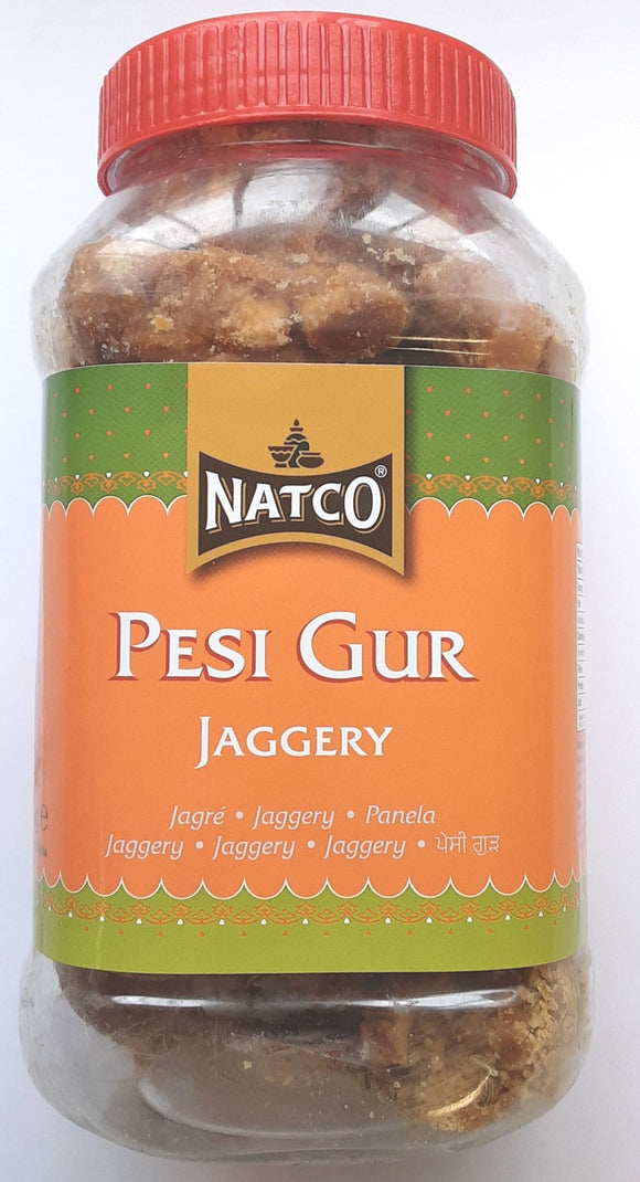 Natco Jaggery Pesi Gur With Fennel Seeds 1kg