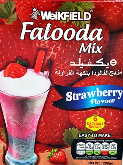 Weikfield Falooda Strawberry Mix 200g