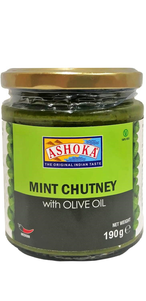 Ashoka Chutney Mint Medium 190g
