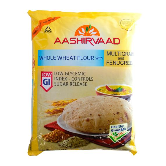 Aashirvaad Multigrain Atta Fenugreek Low GI 5kg