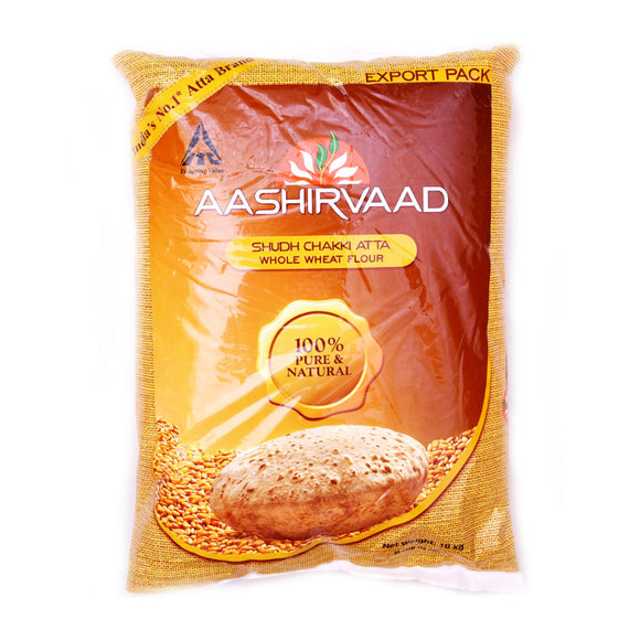 Aashirvaad Whole Wheat Atta 10kg - ExoticEstore