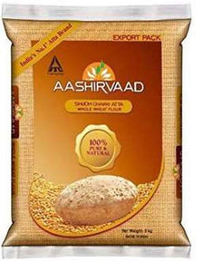 Aashirvaad Whole Wheat Atta 5kg - ExoticEstore
