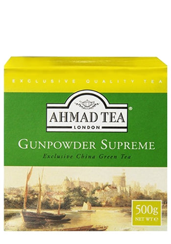 Ahmad Tea Gunpowder Supreme 500g - ExoticEstore
