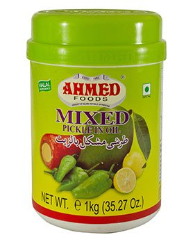 Ahmed Mixed Pickle 1kg - ExoticEstore
