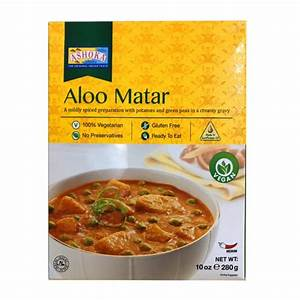 Ashoka Aloo Matar 280g PM 2 For £2
