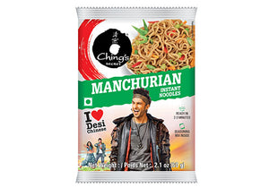 Chings Instant Noodles Manchurian 60g 4 For £1.48