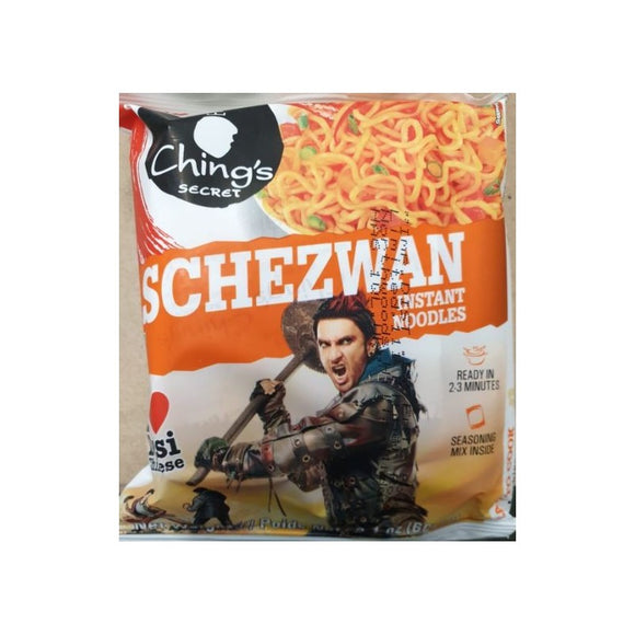 Chings Schezwan Instant Noodles 60g 4 For £1.48