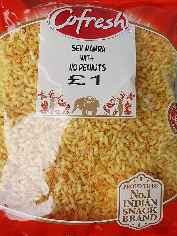 Cofresh Sev Mamra With No Peanuts 350g PM£1 - ExoticEstore