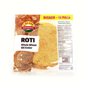 Crispy Roti Whole Wheat 15pack PM £2.49 - ExoticEstore