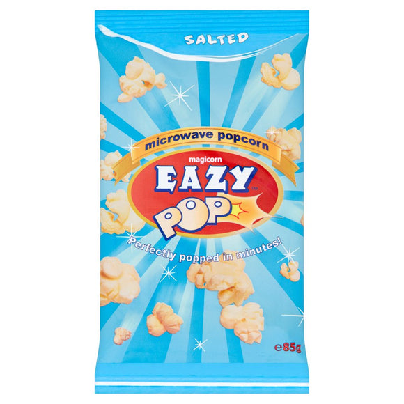 Easy Pop Microwave Popcorn -Salted  85g - ExoticEstore