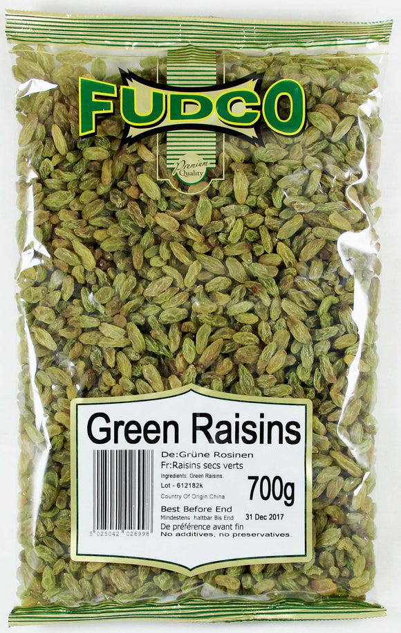 Fudco Green Raisin 700g - ExoticEstore