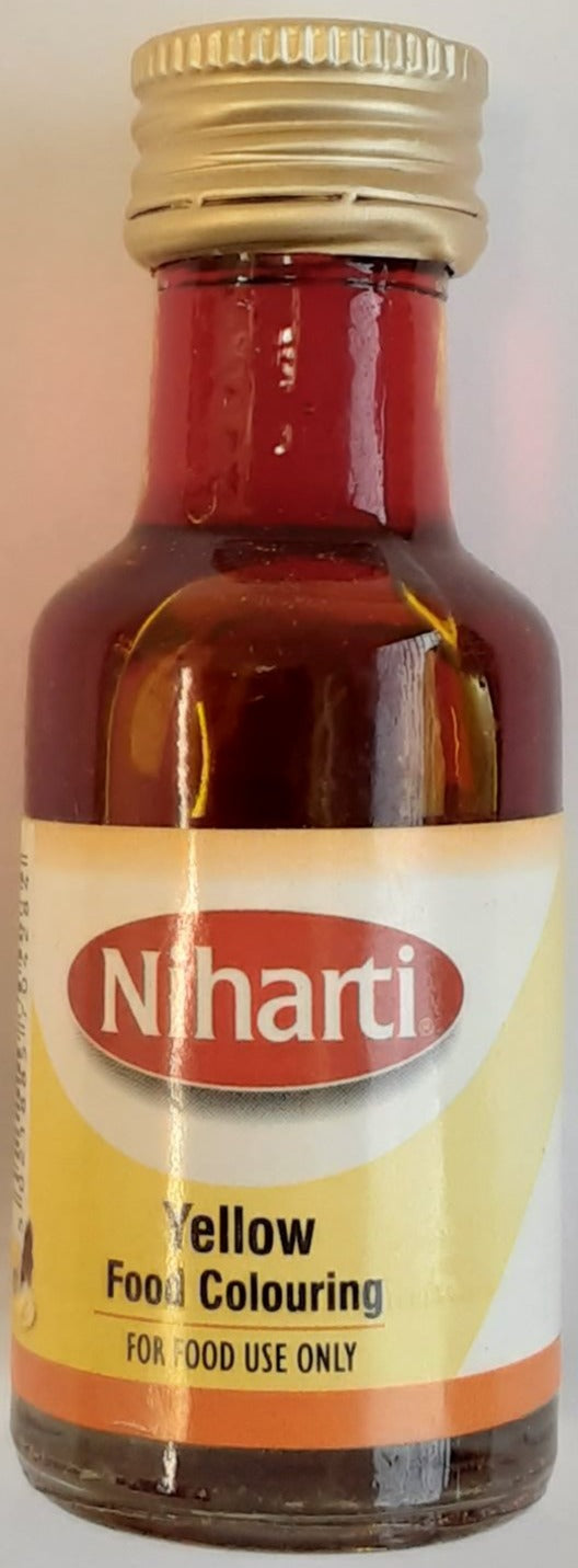 Niharti Yellow Food Colouring 28ml - ExoticEstore