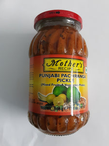 Mother's Punjabi Pachranga Pickle 500g - ExoticEstore