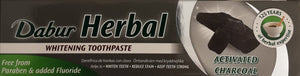Dabur Herbal Toothpaste Whitening Charcoal 100ml - ExoticEstore