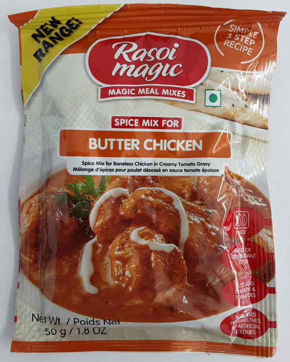 Rasoi Magic Butter Chicken Spice Mix 50g - ExoticEstore