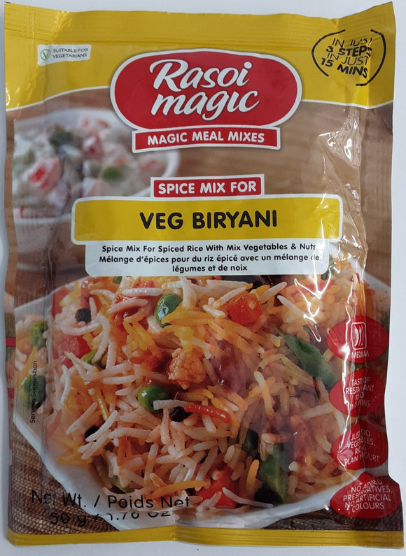 Rasoi Magic Veg Biryani Spice Mix 50g - ExoticEstore