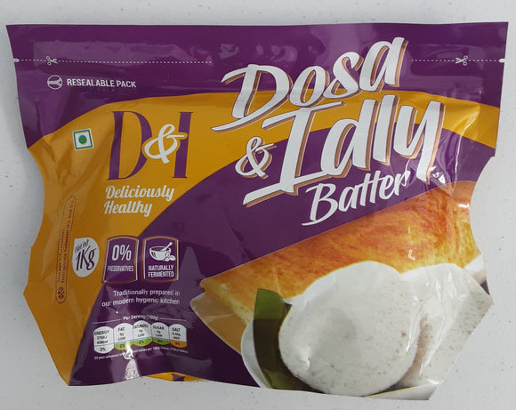 D & I Dosa And Idli Batter 1kg - ExoticEstore