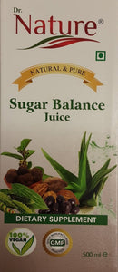 Dr Nature Sugar Balance Juice 500ml - ExoticEstore