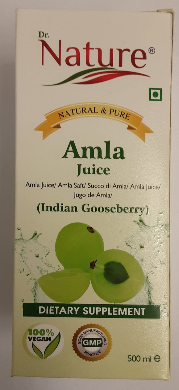 Dr Nature Amla Juice 500ml - ExoticEstore