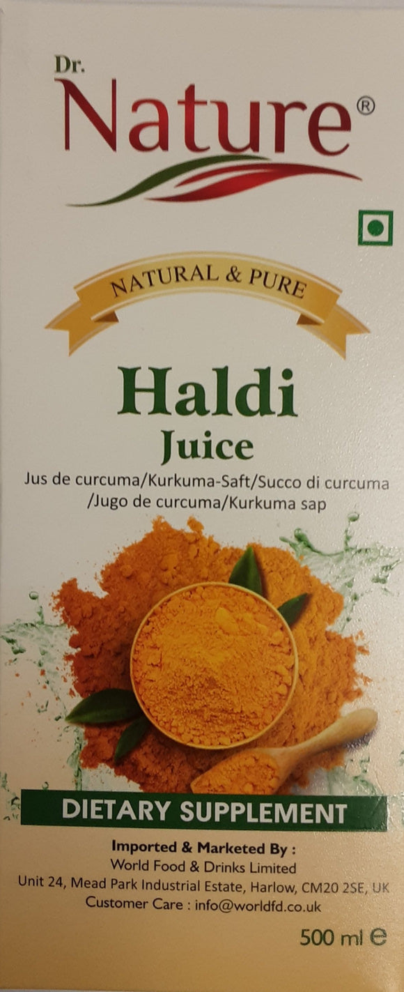 Dr Nature Haldi Juice 500ml - ExoticEstore