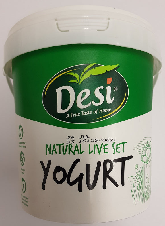 Desi Natural Live Set Yogurt 1kg - ExoticEstore