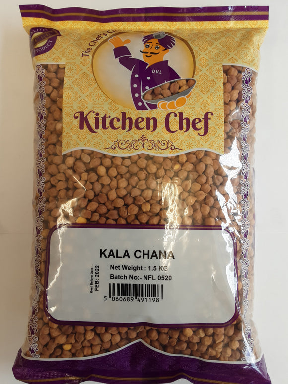 Kitchen Chef Kala Chana 1.5kg - ExoticEstore