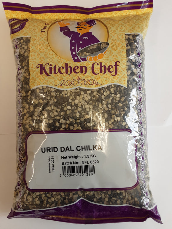 Kitchen Chef Urid Dal Chilka 1.5kg - ExoticEstore