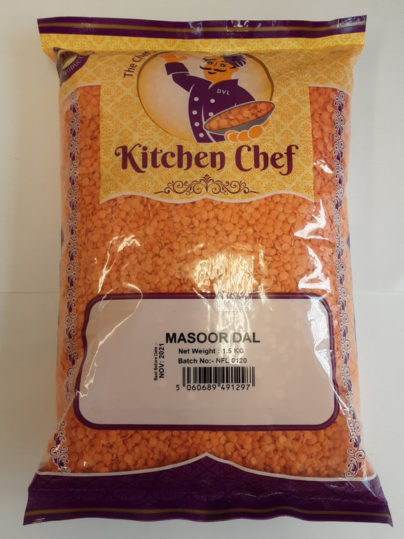 Kitchen Chef Masoor Dal 1.5kg - ExoticEstore