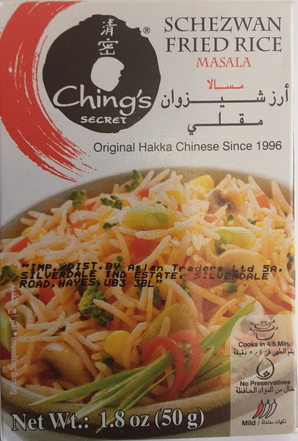 Ching's Schezwan Fried Rice Masala 50g - ExoticEstore