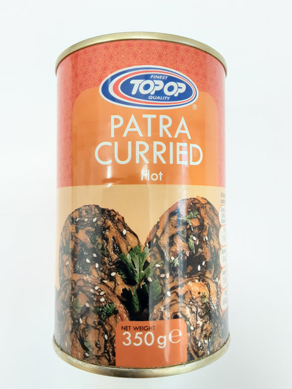 Top Op Patra Curried Hot 350g